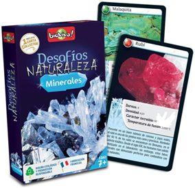 Juegos de cartas para niños   Desafíos Naturaleza. Minerales   A partir de 7 años