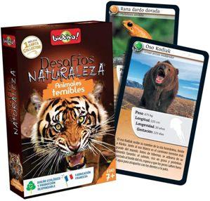 Juegos de cartas para niños   Desafíos Naturaleza. Animales temibles   A partir de 7 años