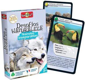 Juegos de cartas para niños   Desafíos Naturaleza. Animales inseparables   A partir de 7 años