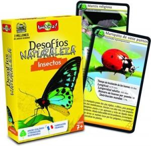 Juegos de cartas para niños   Desafíos Naturaleza. Insectos   A partir de 7 años