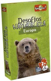 Juegos de cartas para niños   Desafíos Naturaleza. Europa   A partir de 7 años