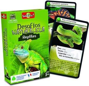 Juegos de cartas para niños   Desafíos Naturaleza. Reptiles   A partir de 7 años