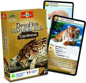 Juegos de cartas para niños   Desafíos Naturaleza. Carnívoros   A partir de 7 años
