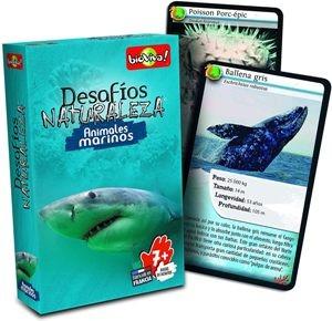 Juegos de cartas para niños   Desafíos Naturaleza. Animales marinos   A partir de 7 años