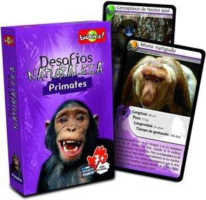 Juegos de cartas para niños   Desafíos Naturaleza. Primates   A partir de 7 años