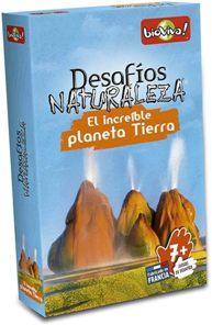 Juegos de cartas para niños   Desafíos Naturaleza. El increíble planeta Tierra   A partir de 7 años