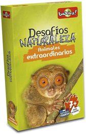 Juegos de cartas para niños   Desafíos Naturaleza. Animales extraordinarios   A partir de 7 años