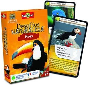 Juegos de cartas para niños   Desafíos Naturaleza. Aves   A partir de 7 años