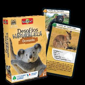 Juegos de cartas para niños   Desafíos Naturaleza. Oceanía   A partir de 7 años