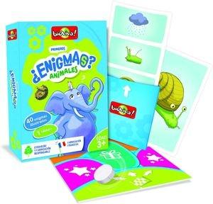 Juegos de cartas para niños   ¿Enigmas? Animales  A partir de 3 años