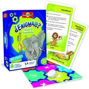 Juegos de cartas para niños   ¿Enigmas? Mundo animal   A partir de 7 años