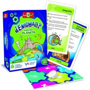 Juegos de cartas para niños   ¿Enigmas? Nuestro planeta   A partir de 7 años