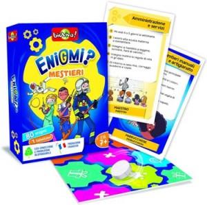 Juegos de cartas para niños   ¿Enigmas? Oficios   A partir de 7 años