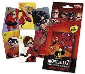 Juegos de cartas para niños   Los Increíbles 2   A partir de 4 años