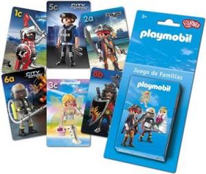 Juegos de cartas para niños   Playmobil. Juego de familias   A partir de 4 años