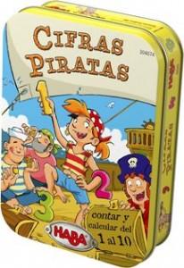 Juegos de cartas para niños   Cifras piratas   A partir de 5 años