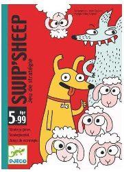 Juegos de cartas para niños   Swip'Sheep  A partir de 5 años