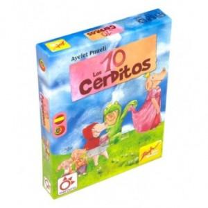 Juegos de cartas para niños   Los 10 cerditos   A partir de 6 años