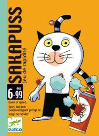Juegos de cartas para niños   Sakapuss   A partir de 6 años