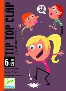 Juegos de cartas para niños   Tip Top Clap   A partir de 6 años