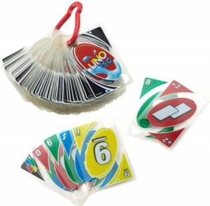 Juegos de cartas para niños   UNO H20 To Go   A partir de 7 años
