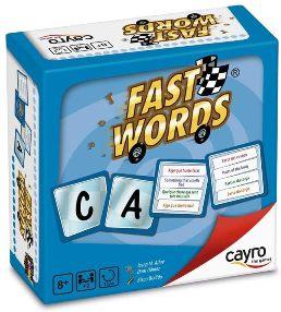 Juegos de cartas para niños   Fast Words   A partir de 8 años