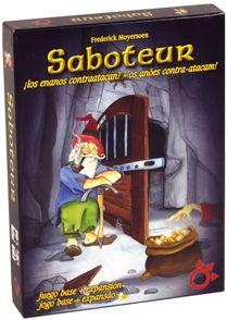 Juegos de cartas para niños   Saboteur   A partir de 8 años