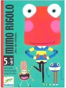 Juegos de cartas para niños   Mimo Rigolo   A partir de 5 años
