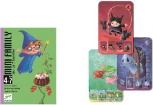 Juegos de cartas para niños   Mini Family   A partir de 4 años